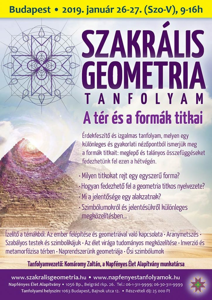 Magyar motívumok nyomában – Szakrális geometria és ornamentika