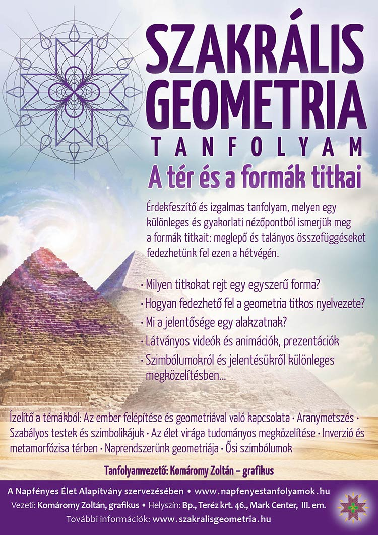 Szakrális Geometria tanfolyam